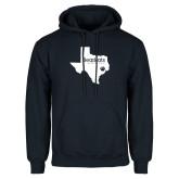 Navy Fleece Hoodie-Bearkats Texas