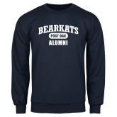 Navy Fleece Crew-Bearkats Alumni