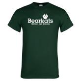 Dark Green T Shirt-Bearkats