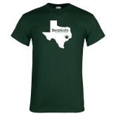 Dark Green T Shirt-Bearkats Texas