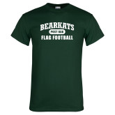 Dark Green T Shirt-Flag Football