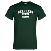 Dark Green T Shirt-Bearkats Alumni