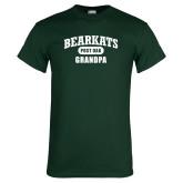 Dark Green T Shirt-Bearkats Grandpa