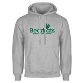 Grey Fleece Hoodie-Bearkats