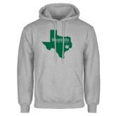 Grey Fleece Hoodie-Bearkats Texas