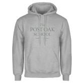 Grey Fleece Hoodie-The Post Oak School