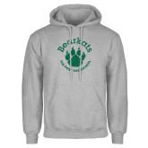 Grey Fleece Hoodie-Distressed Bearkats