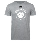 Adidas Sport Grey Logo T Shirt-Paw Logo