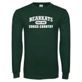 Dark Green Long Sleeve T Shirt-Cross Country