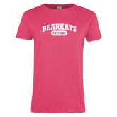 Ladies Hot Pink Shirt-Primary Mark