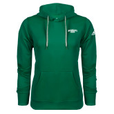 Adidas Climawarm Dark Green Team Issue Hoodie-Primary Mark