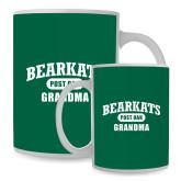 Full Color White Mug 15oz-Bearkats Grandma