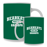 Full Color White Mug 15oz-Bearkats Grandpa