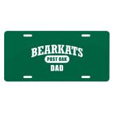 License Plate-Bearkats Dad