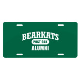 License Plate-Bearkats Alumni