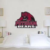 2 ft x 3 ft Fan WallSkinz-Potsdam Bears - Official Logo