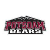 Medium Decal-Potsdam Bears w/ Mountains