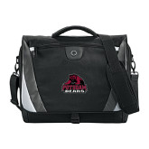Slope Black/Grey Compu Messenger Bag-Potsdam Bears - Official Logo