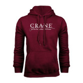 Maroon Fleece Hoodie-Crane School of Music