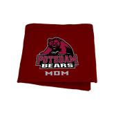 Maroon Sweatshirt Blanket-Mom