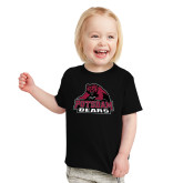 Toddler Black T Shirt-Potsdam Bears - Official Logo