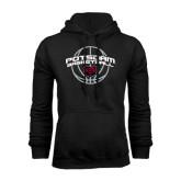 Black Fleece Hoodie-Basketball in Ball Design