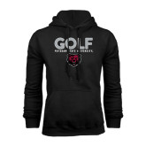 Black Fleece Hoodie-Golf Design
