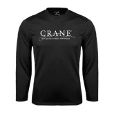 Performance Black Longsleeve Shirt-Crane School of Music