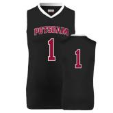 Replica Black Adult Basketball Jersey-#1