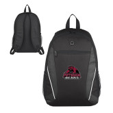 Atlas Black Computer Backpack-Potsdam Bears - Official Logo