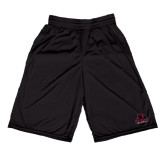 Russell Performance Black 9 Inch Short w/Pockets-Potsdam Bears - Official Logo