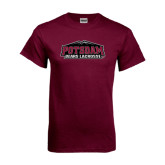 Maroon T Shirt-Lacrosse