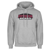 Grey Fleece Hoodie-Potsdam Bears w/ Mountains