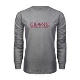 Grey Long Sleeve T Shirt-Crane School of Music
