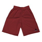 Performance Classic Maroon 9 Inch Short-Potsdam Bears - Official Logo