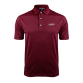 Maroon Dry Mesh Polo-Crane School of Music