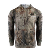 Realtree Camo Fleece Hoodie-Potsdam Bears - Official Logo Tone