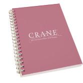 Clear 7 x 10 Spiral Journal Notebook-Crane School of Music