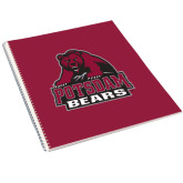 College Spiral Notebook w/Clear Coil-Potsdam Bears - Official Logo