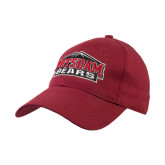 Maroon Heavyweight Twill Pro Style Hat-Potsdam Bears w/ Mountains