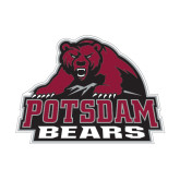 Small Magnet-Potsdam Bears - Official Logo