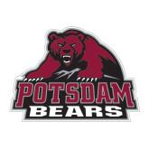 Medium Magnet-Potsdam Bears - Official Logo