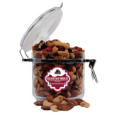 Deluxe Nut Medley Round Canister-Potsdam Bears - Official Logo