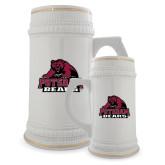 Full Color Decorative Ceramic Mug 22oz-Potsdam Bears - Official Logo