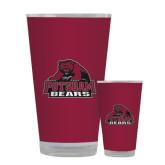 Full Color Glass 17oz-Potsdam Bears - Official Logo