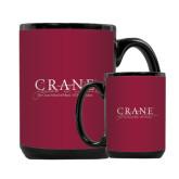 Full Color Black Mug 15oz-Crane School of Music