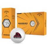 Callaway Warbird Golf Balls 12/pkg-Potsdam Bears - Official Logo