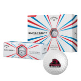 Callaway Supersoft Golf Balls 12/pkg-Potsdam Bears - Official Logo