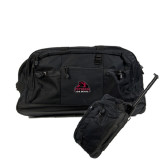 Urban Passage Wheeled Black Duffel-Potsdam Bears - Official Logo