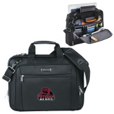 Kenneth Cole Black Vertical Checkpoint Friendly Messenger-Potsdam Bears - Official Logo